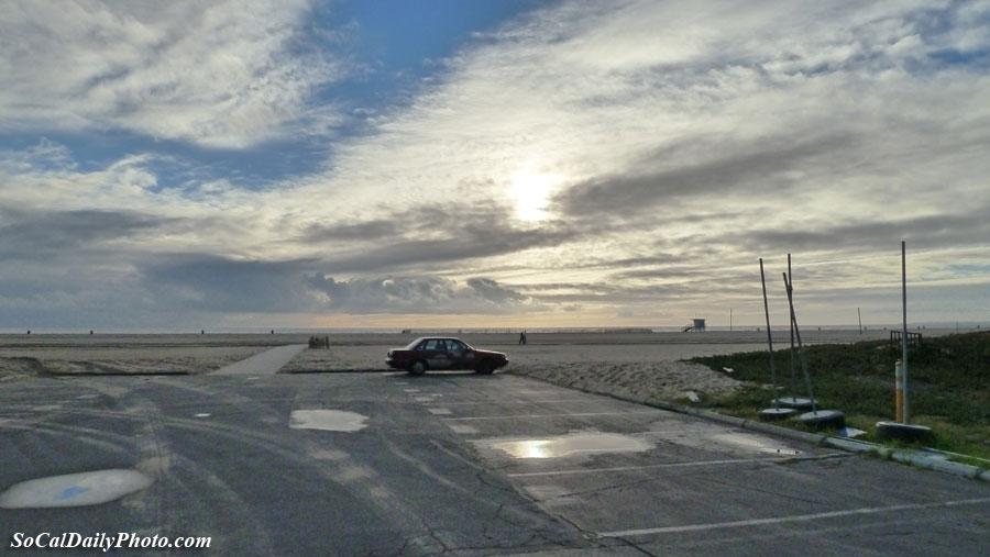 Santa Monica after the rain