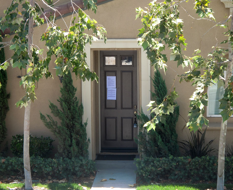 foreclosed home in Orange